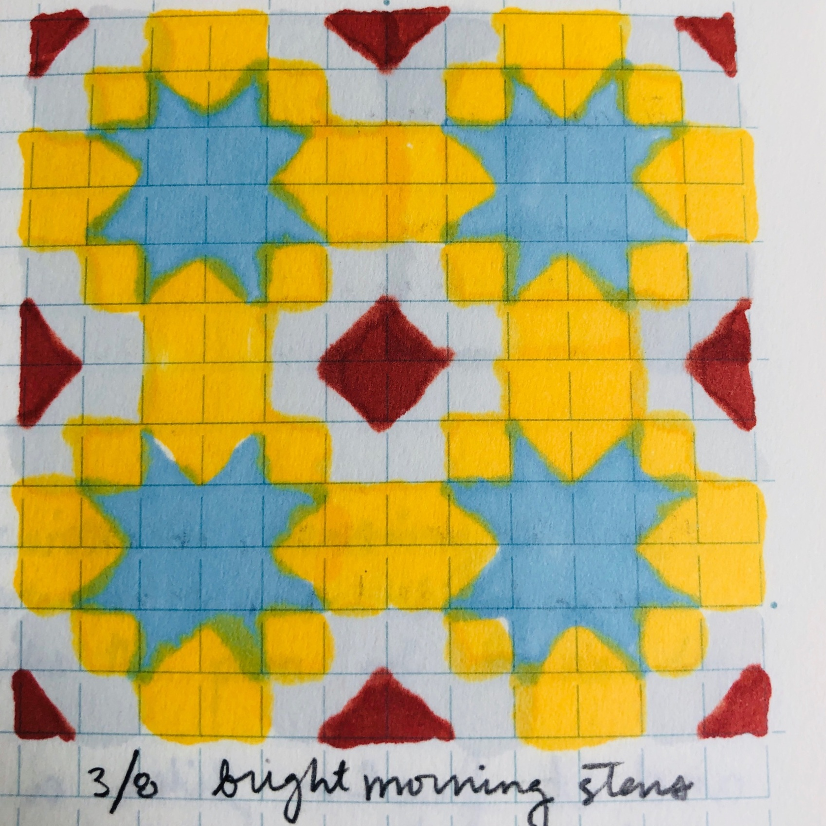 """bright morning stars"" 3/8/19"