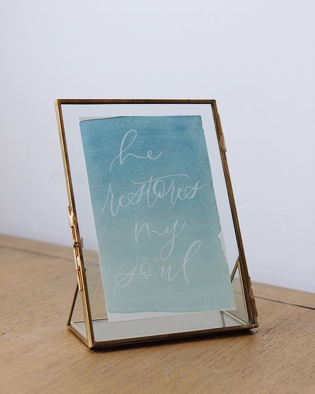 Remember my stories a few days ago about all the great stuff I got on clearance at Hobby Lobby? Well this is one of the gorgeous frames that I got! Are you a fan of float frames? Honestly I hope so because I'm obsessed and you'll be seeing a lot more of them in my feed.▫️⠀ .⠀ .⠀ .⠀ I've been having a hard time staying present here on social media and I am so thankful that all of you are still here encouraging me. In the next few weeks I will be working on new products as well as updating my website to include my shop in my website.▫️⠀ .⠀ .⠀ .⠀ That said, I need your input! What kind of products would you like to see from me? Are you looking for things for the home or more event products? Let me know!