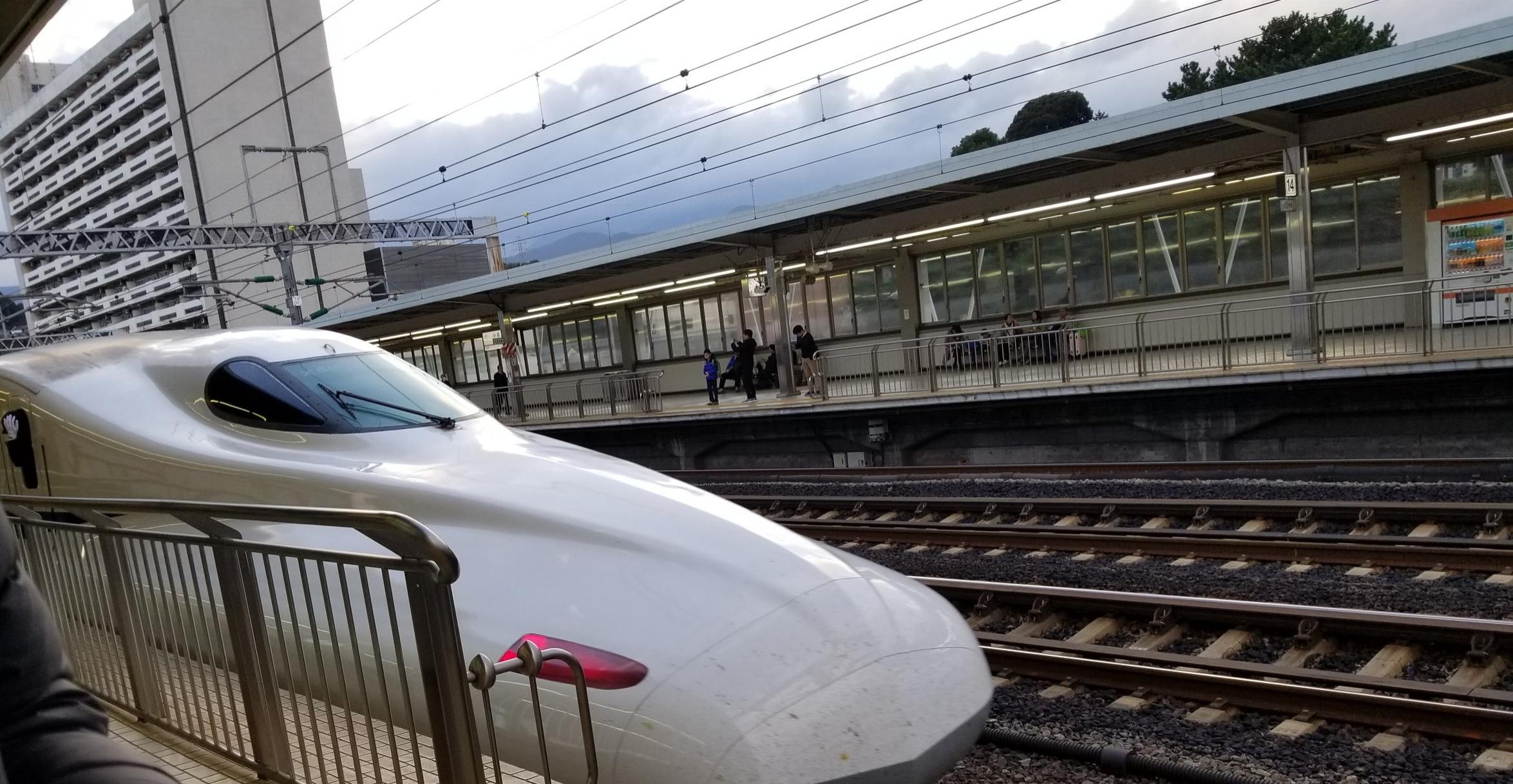 uprooted-traveler-Shinkansen-bullet-train-vegan-guide-kyoto