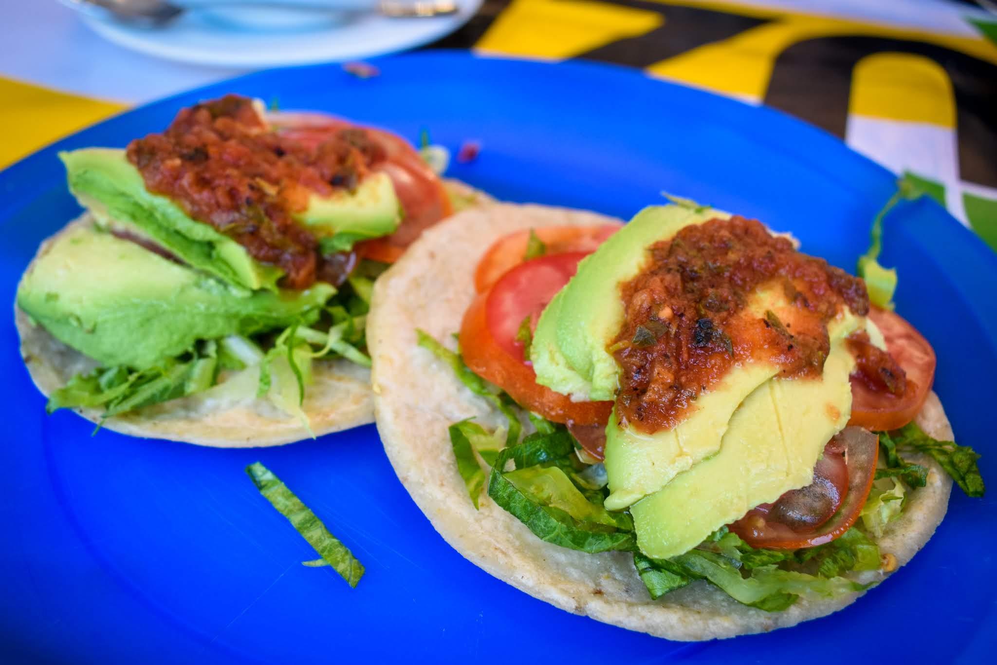 Uprooted-Traveler-Vegan-Weekend-in-Tulum-Mexico-Taqueria-Honorio-avocado-tacos.jpg
