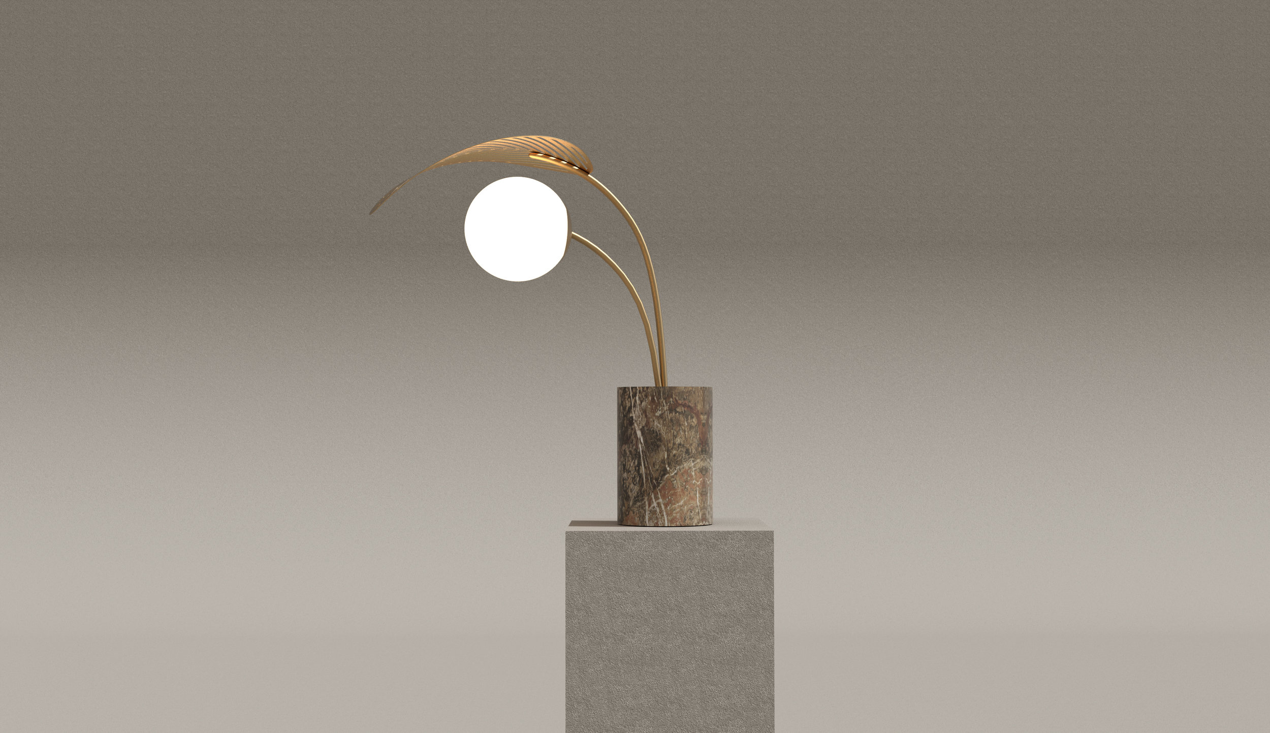 RefugE TABLE LAMP   Marc Ange 2018