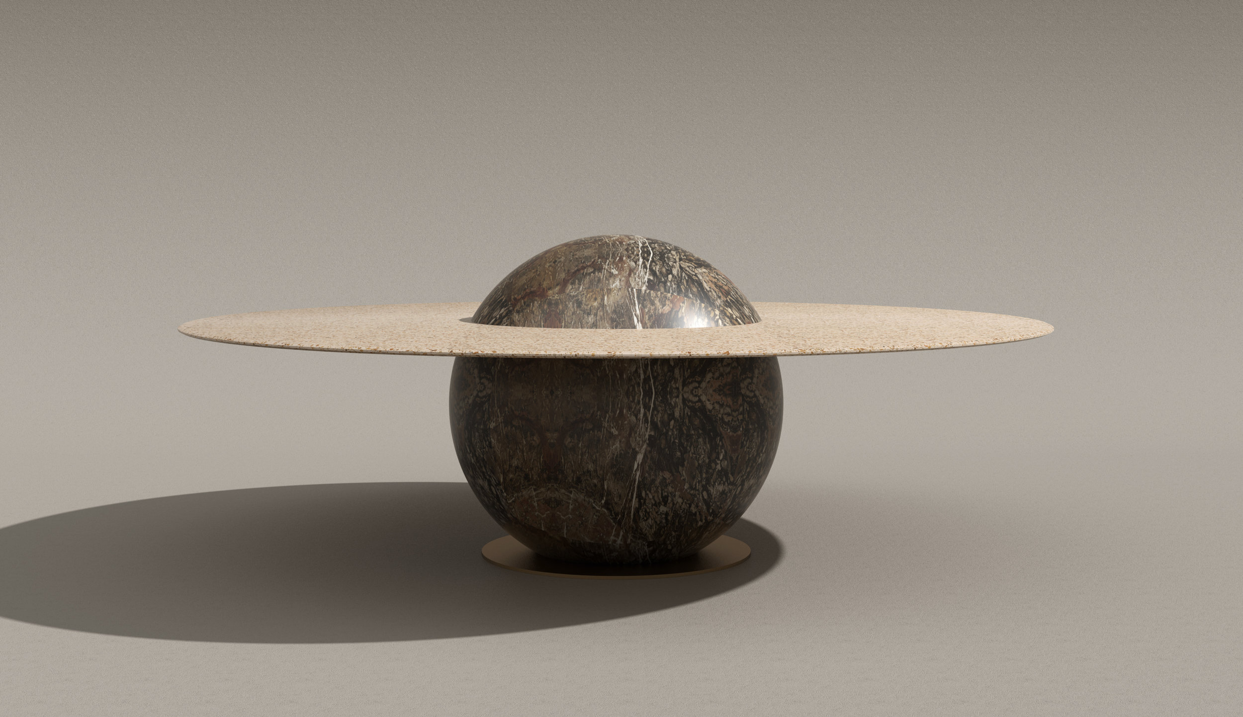 ASTRAL DINING TABLE   Marc Ange 2019