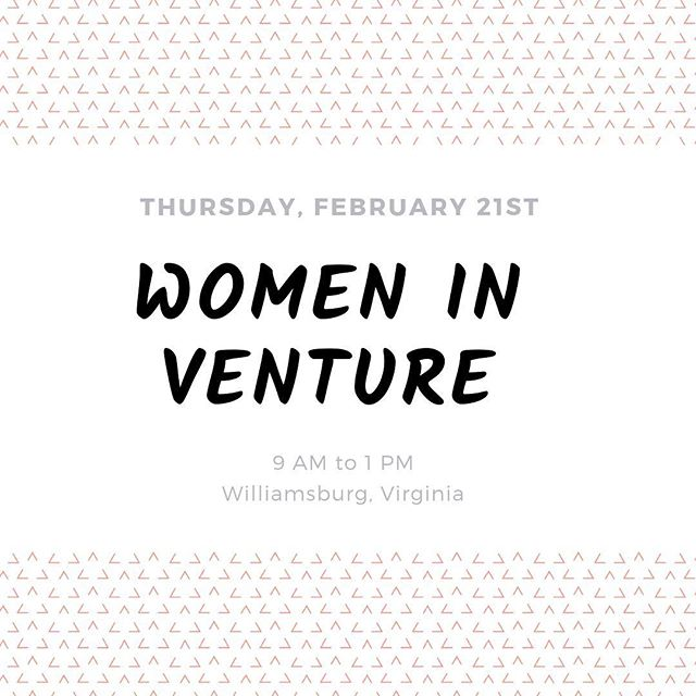 Looking forward to attending RAISE this Thursday, a Women in Venture event exploring topics related to women's investment and entrepreneurship experiences. One step to getting more women in venture and startups 🙌🏽 . . . . #startups #scale #operations #smallbusiness #process #bossbabesrva #mastersofscale #operationalexcellence #growyourbusiness #growingpains #entrepreneur #startupva #womeninventurerva #womeninventure #womeninventurecapital