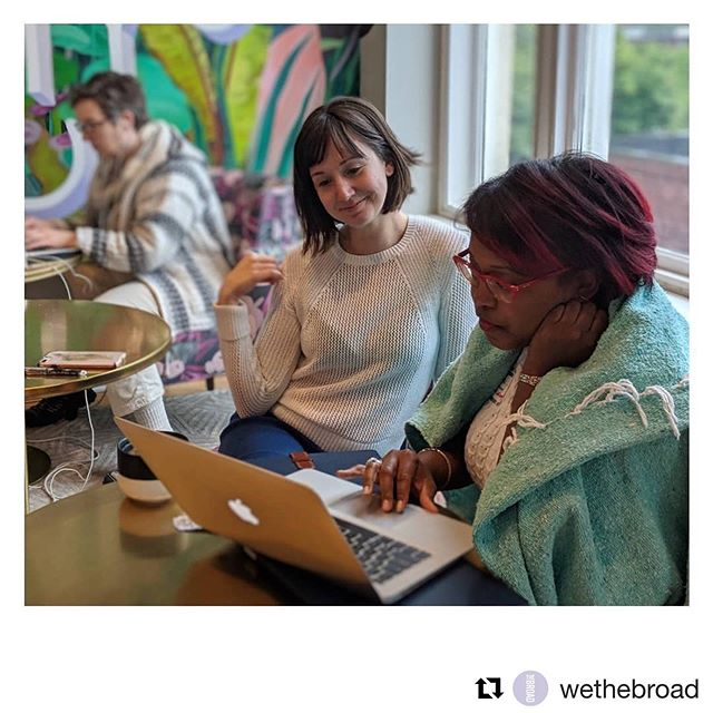 Get some on-site operations guidance via our office hours at The Broad!  #Repost @wethebroad ・・・ Broad perks that make us smile (swipe for proof)...OFFICE HOURS! Our in-house Accountant, @nadianadersoncpa, offers them weekly. PLUS: Members get access to weekly consults with @lindenlegalstrategies, @alexisadvisors, and @vayasconsulting for all of their Legal, Personal Finance, and Operations needs. We have what you need to take your business to the next level, when are you scheduling a trial day?!?