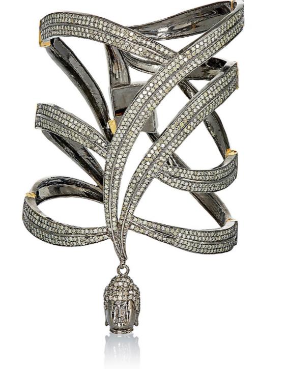 Copy of Pavé Black Diamond Goddess Cuff