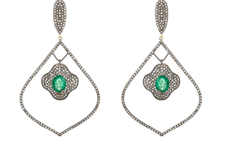 Copy of Arabesque Vert Earrings