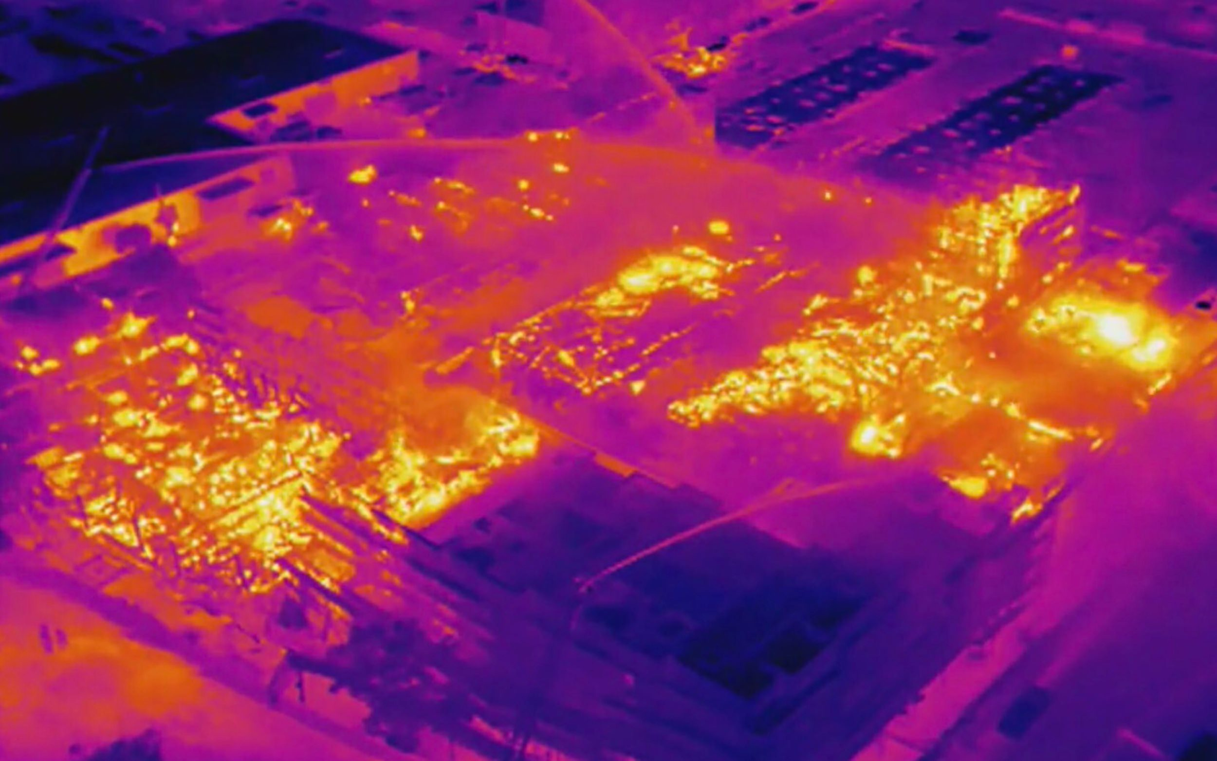 Thermal Drone Image