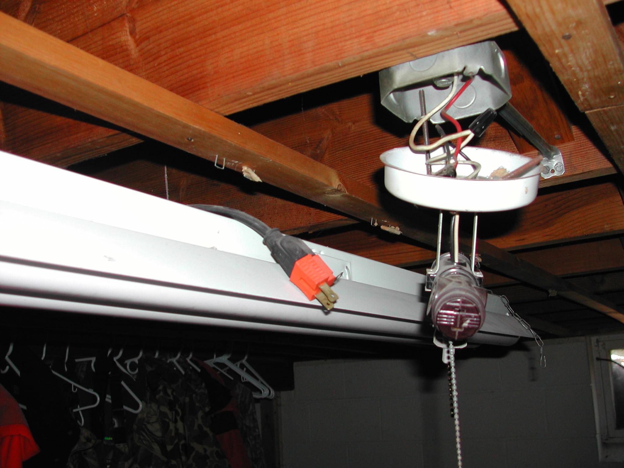 Improper wiring