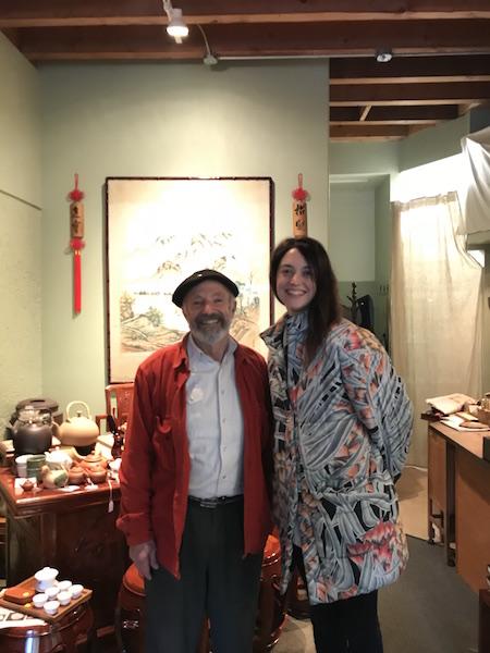 David Lee Hoffman and Rebecca Razzall.