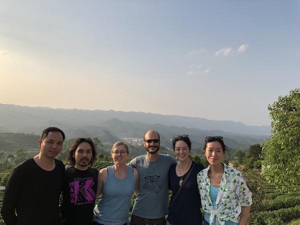 Rao, SoHan, Jess, Nat, myself, and our hero, Rui.