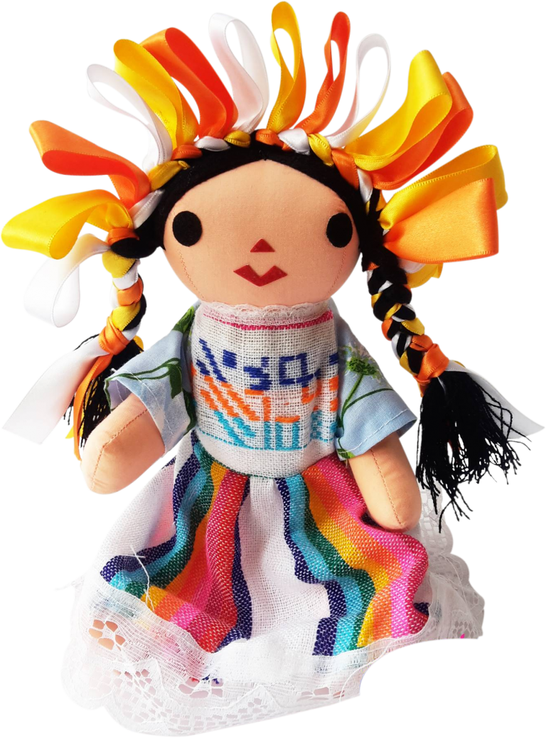 Mexican rag dolls - The best known Mexican rag dolls are those whose origins are most likely in the south of the central state of Queretaro, which have been called