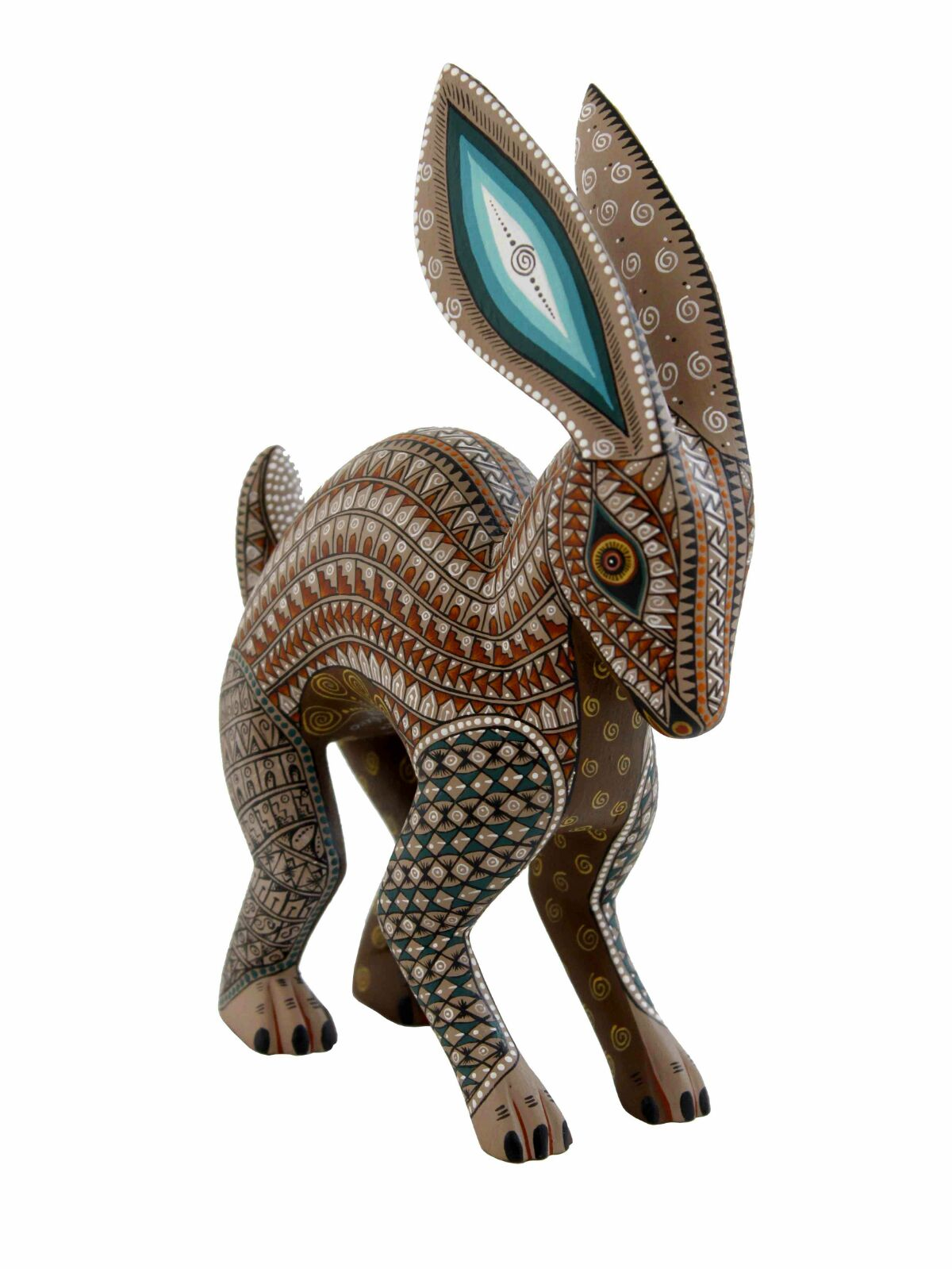 ALEBRIJES - Are a brightly colored Mexican folk art sculptures of fantastical (fantasy/mythical) creatures.