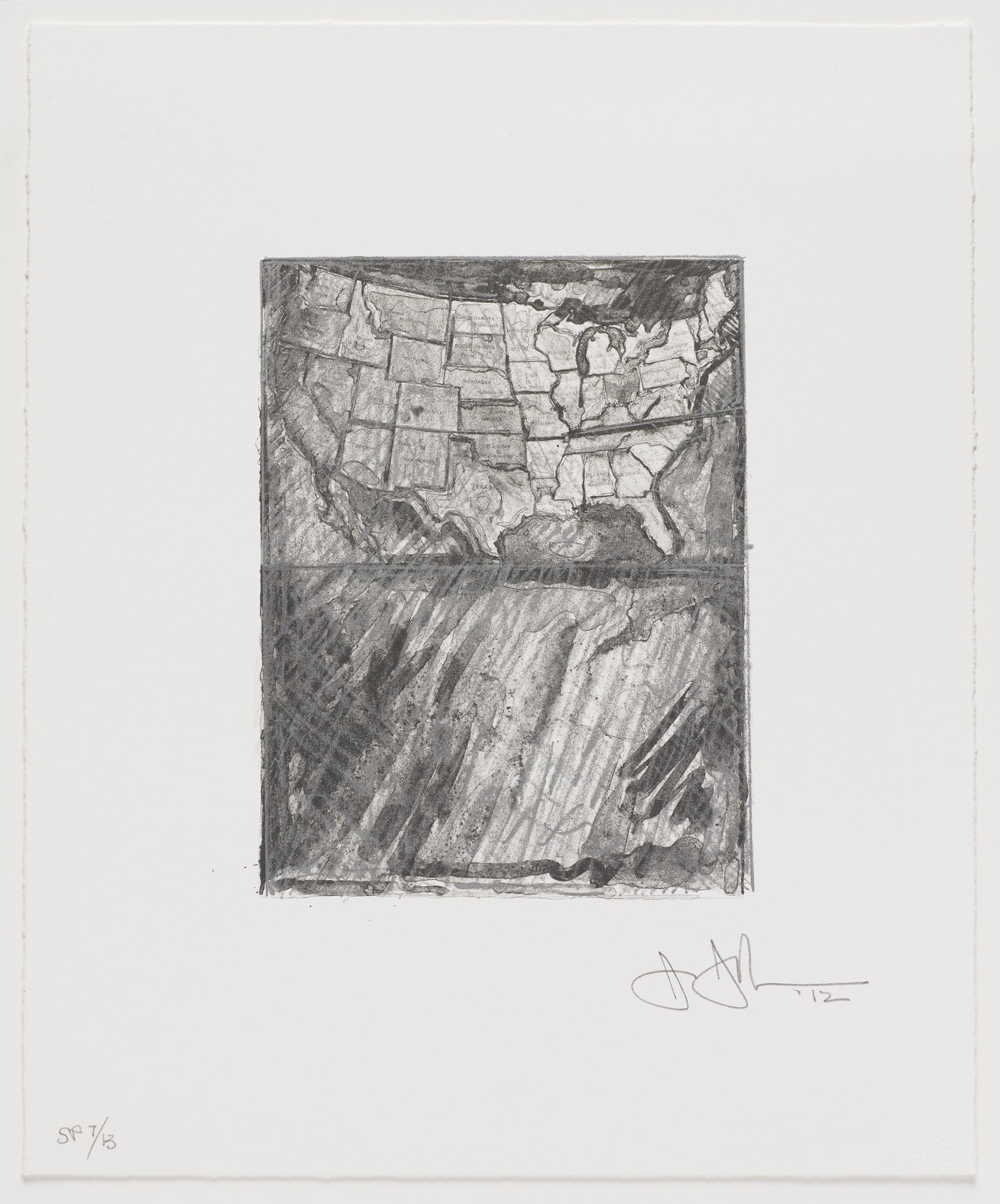Jasper Johns Map  (1).jpeg