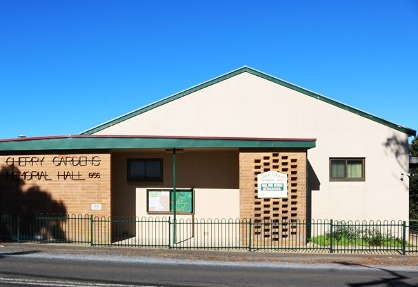 Hall for hire - The Cherry Gardens Hall is available for hire for all functions, meetings and social occasions.Rates are very reasonable.For bookings or more information call Terry on 8270-2232 or 0414 824 110.