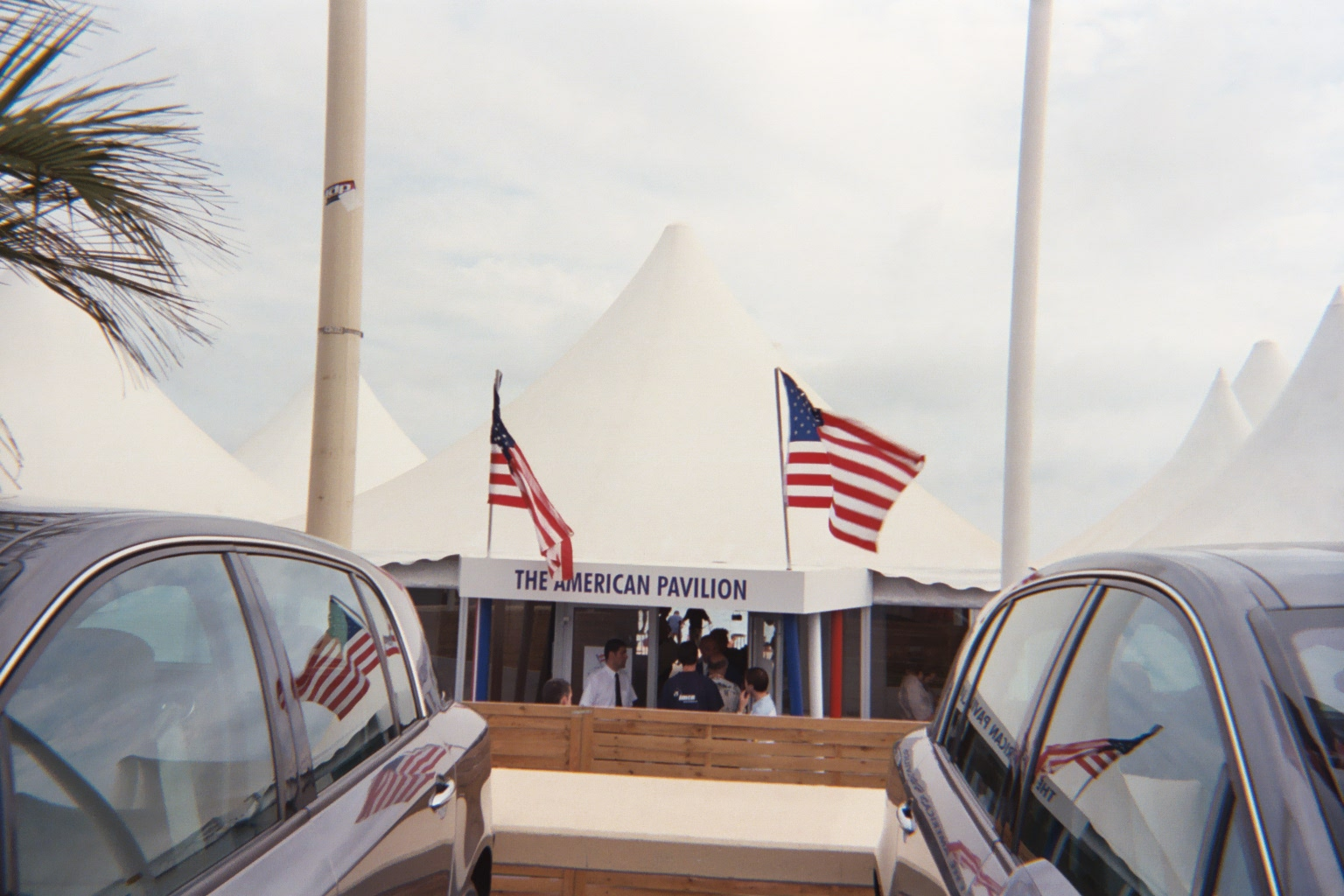 american Pavilion tent.Copyright 2003 Courtney Vallejo. All rights reserved.