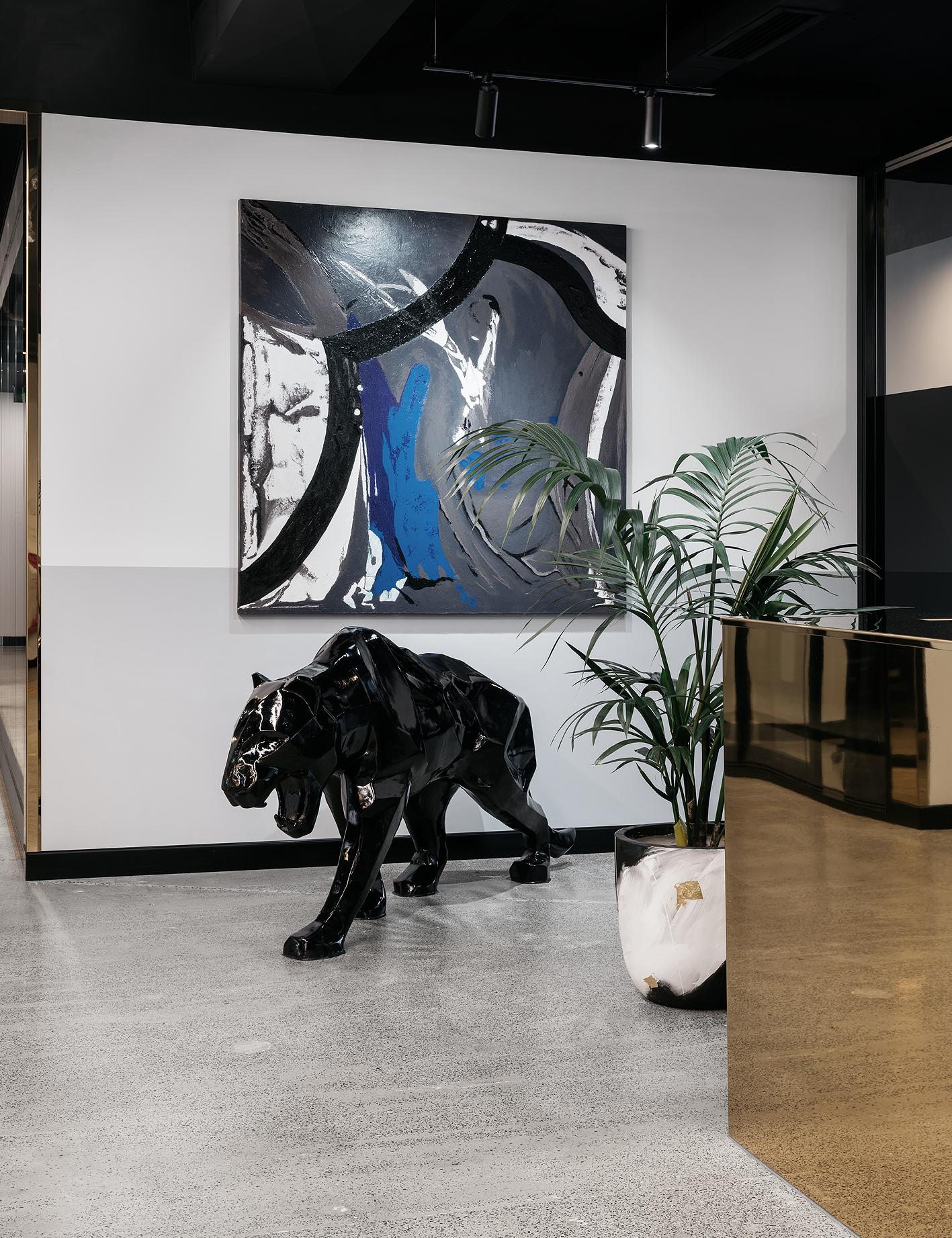 Black panther – Sculpture