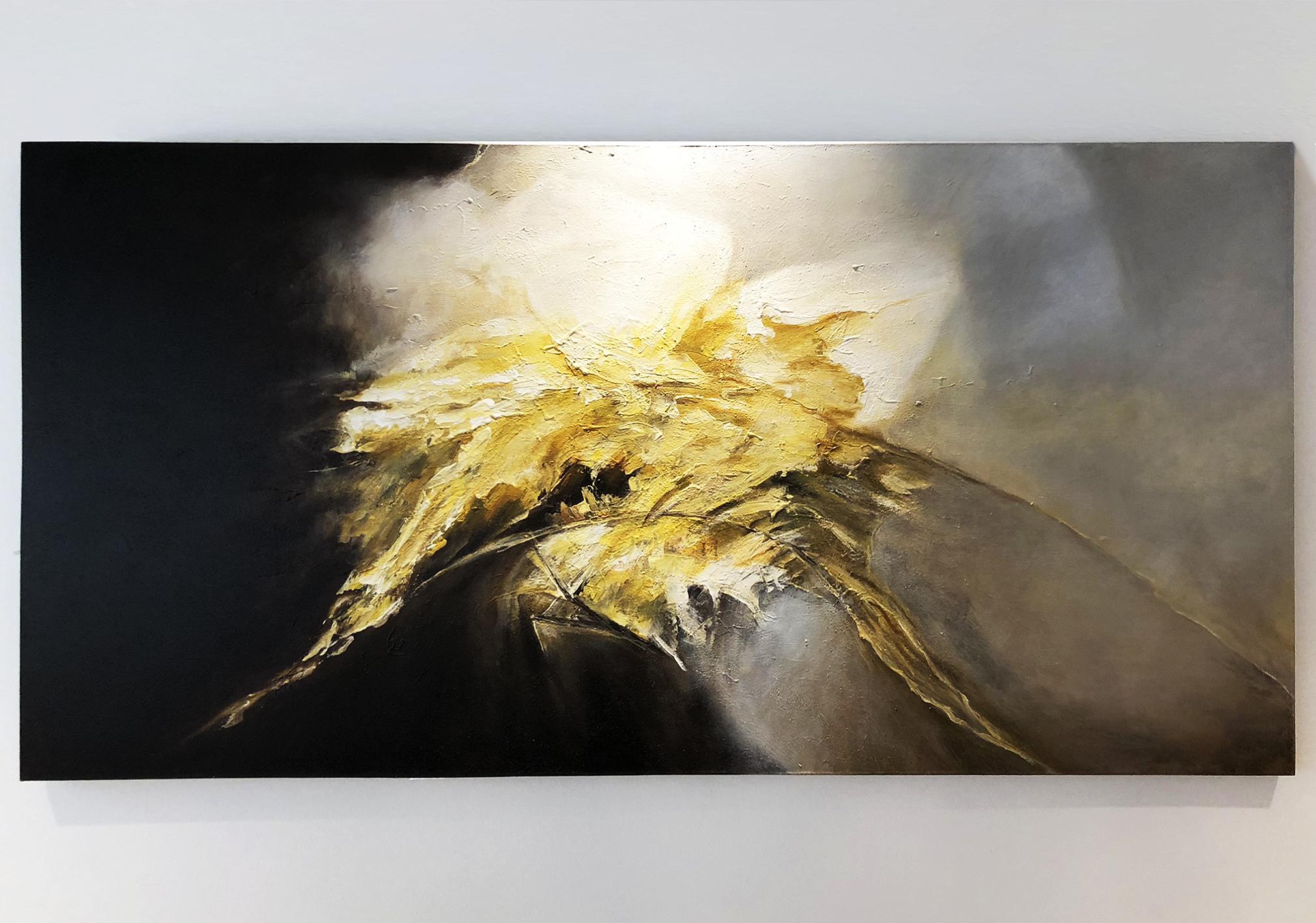 Light within dark – Hand painted art