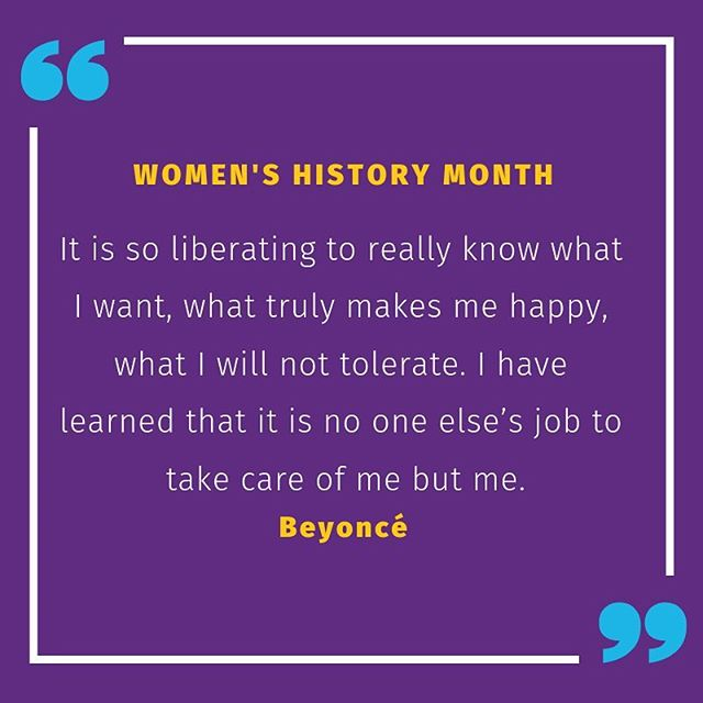 Behind every great woman are great women. Happy #WomensHistoryMonth too all of our AfroLife queens!  #AfroLife #womenshistorymonth2019 #Beyonce #Media #urbanmedia