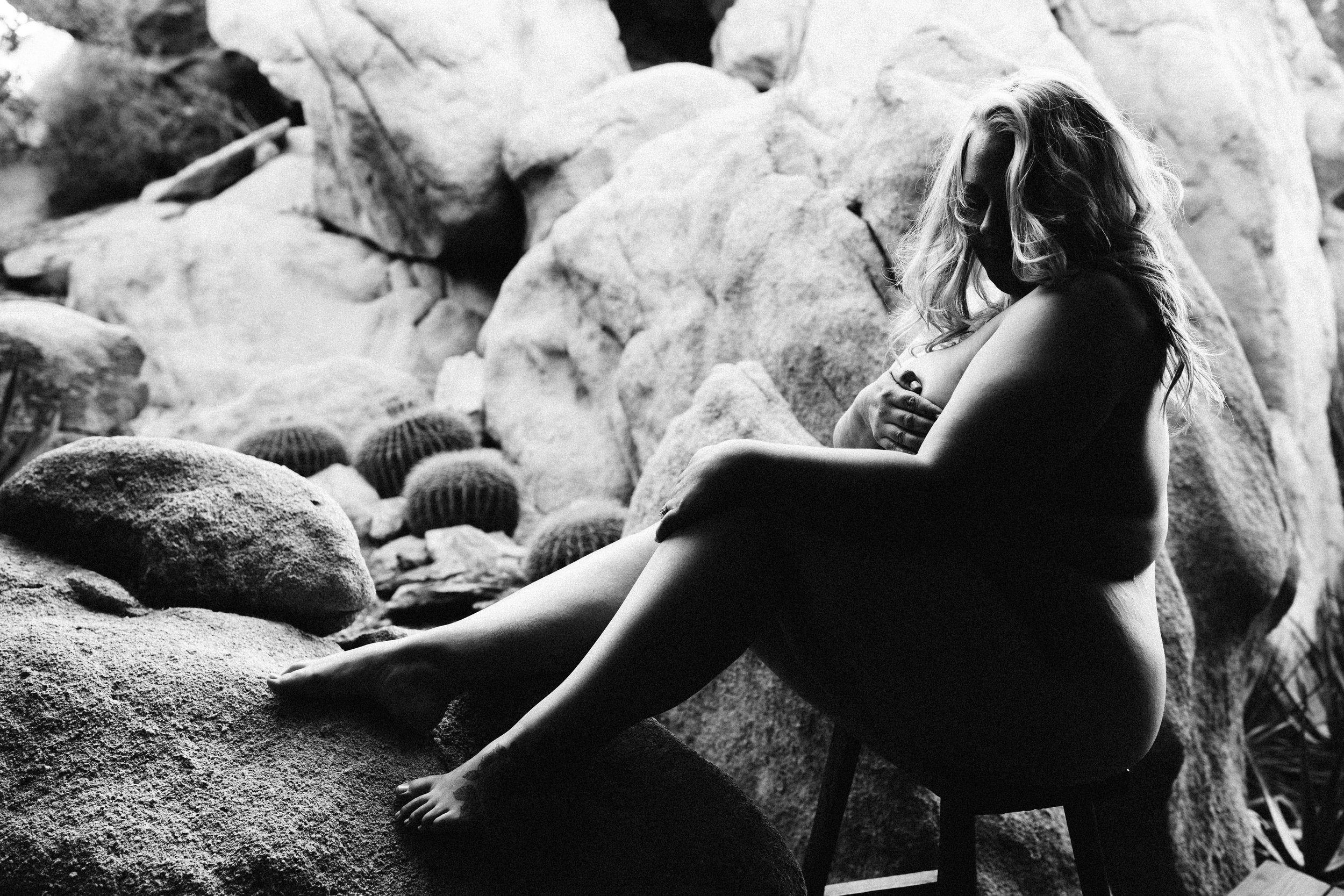 lindsay petty photography - joshua tree boudoir