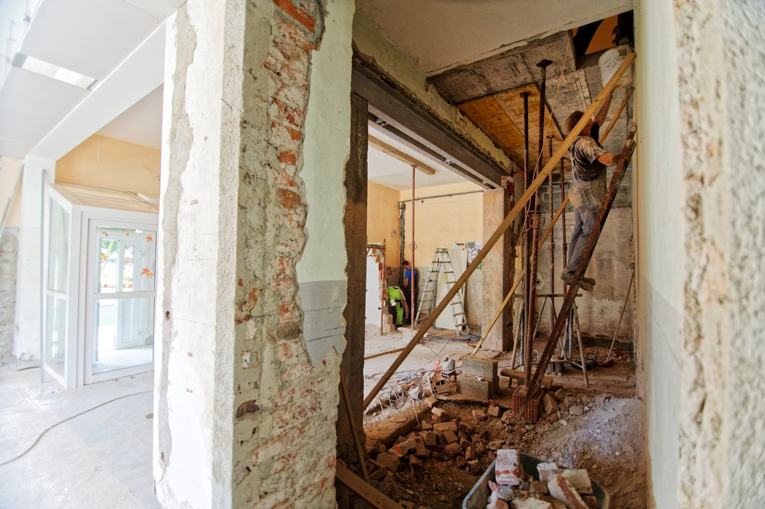 An asbestos inspection is a legal requirement for all commercial refurbishments in Melbourne and Victoria - even if within a residential home.