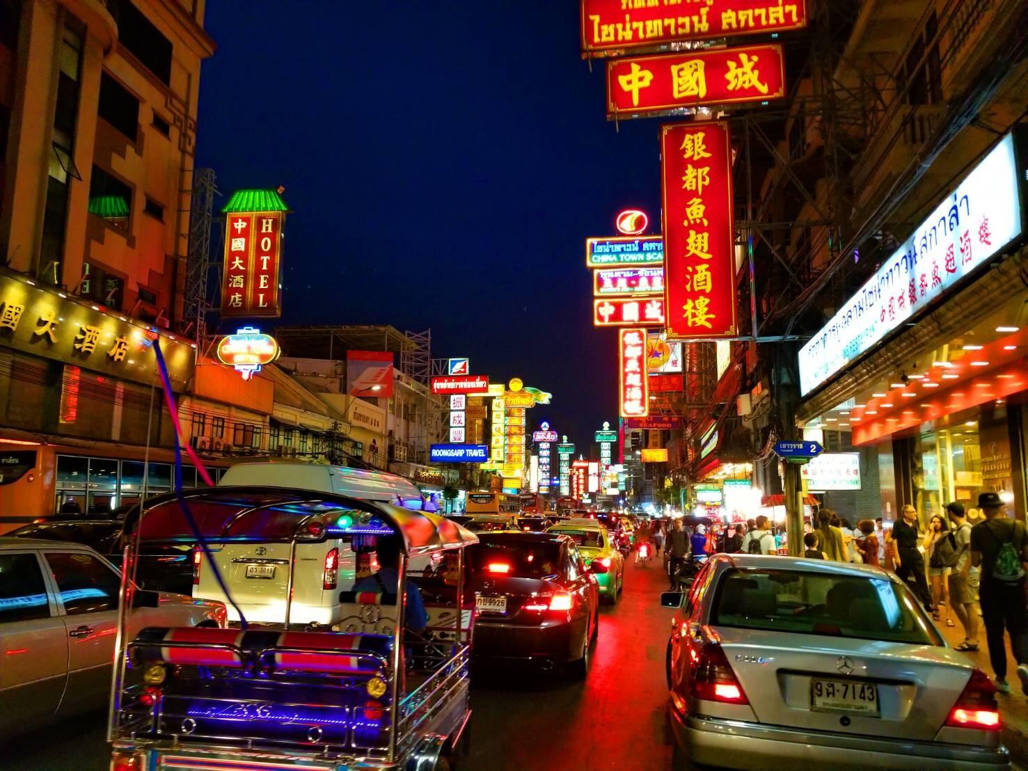 Chinatown, Yaowarat Road, Bangkok, Thailand