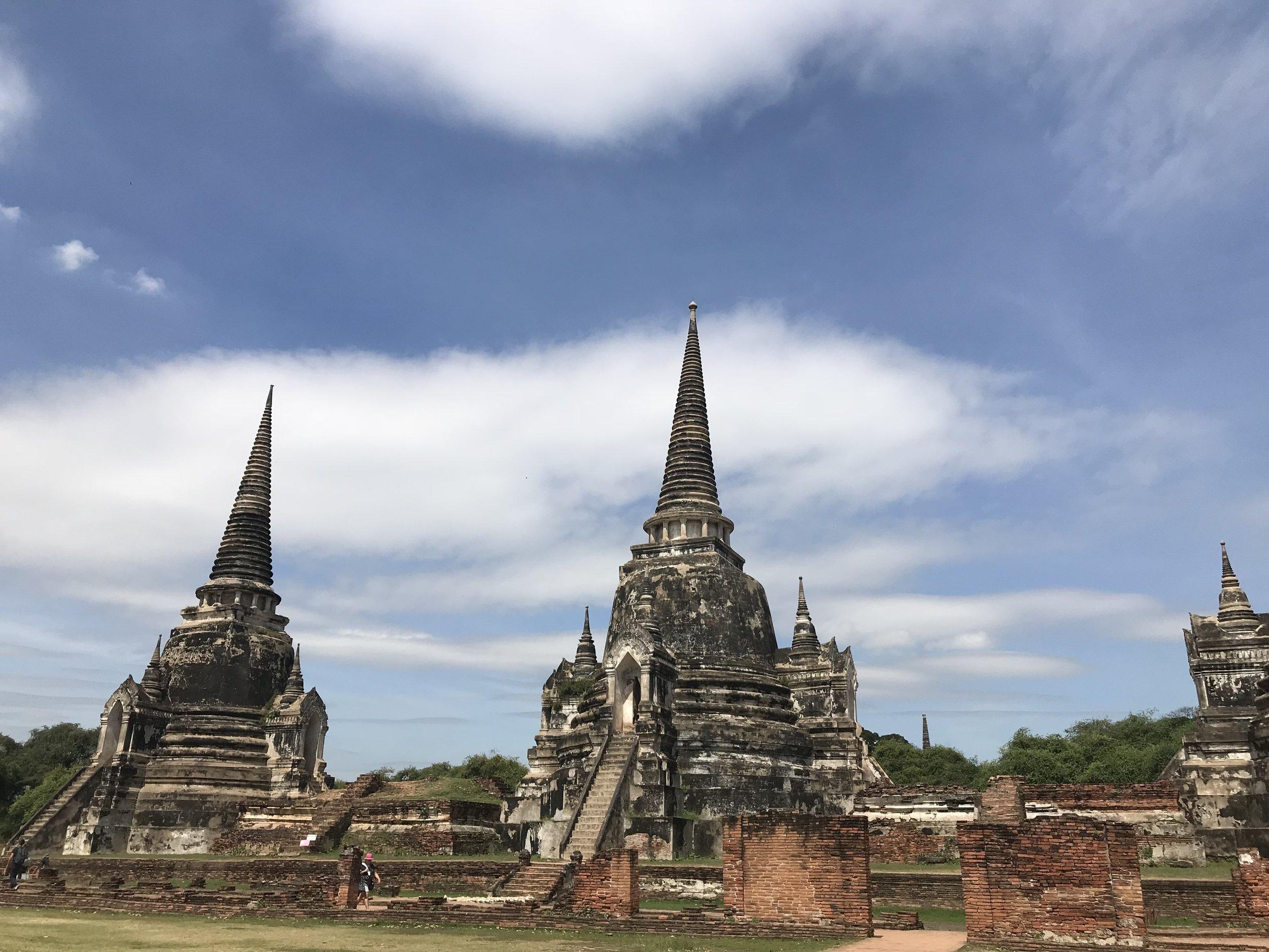 Wat Phra Si Sanphet,Ayutthaya,Thailand