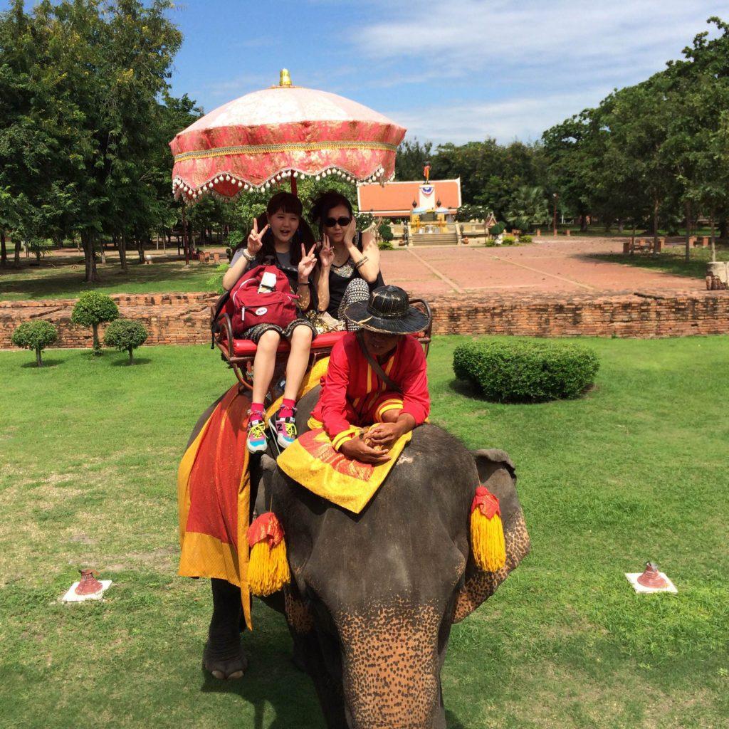 Ayutthaya Elephant Palace & Royal Kraal, Ayutthaya, Thailand