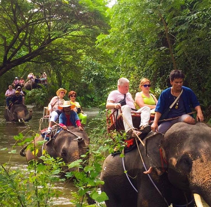 Elephant Village, Ratchaburi, Thailand