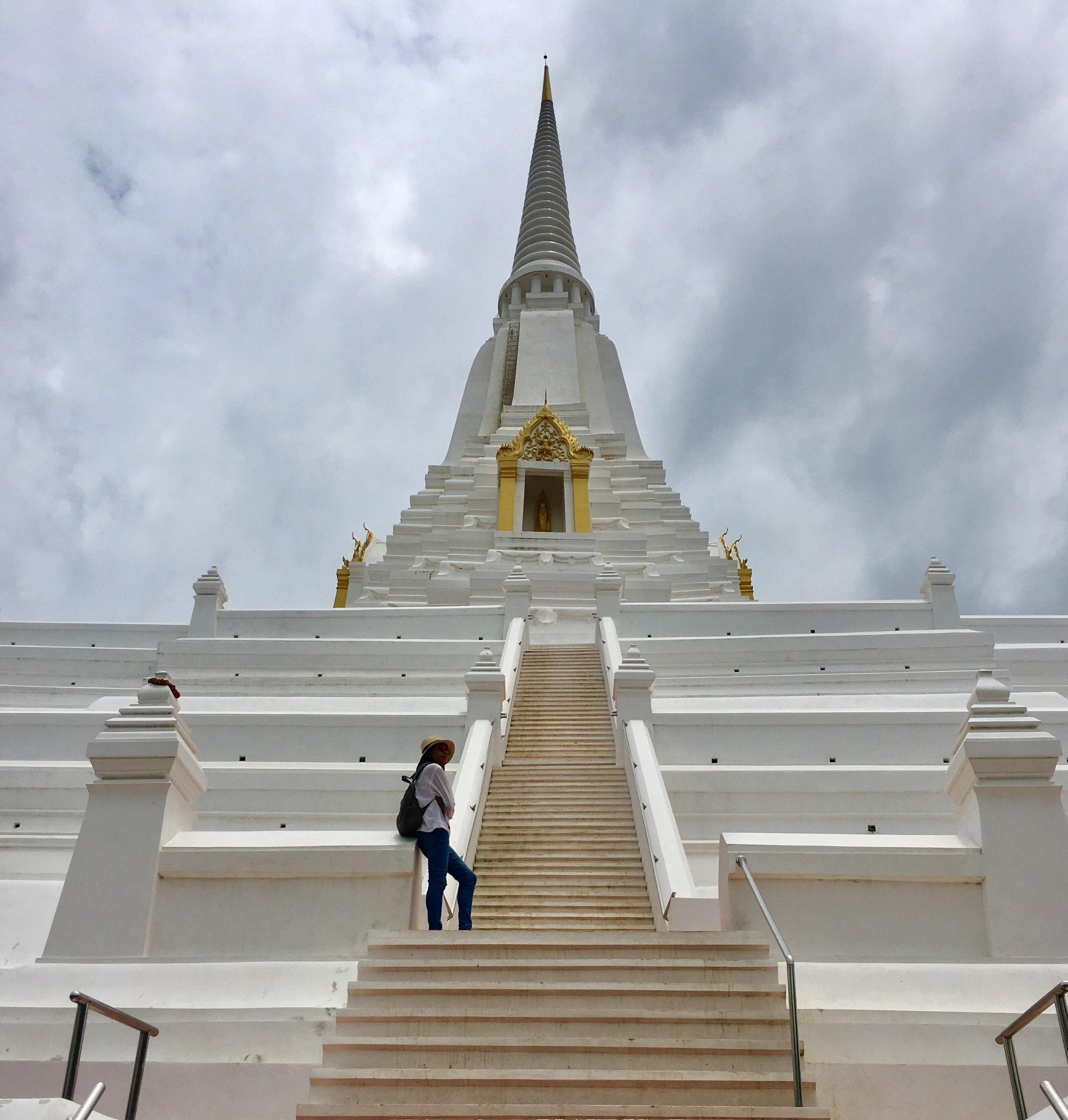 Wat Phua Khao Thong, Ayutthaya, Thailand