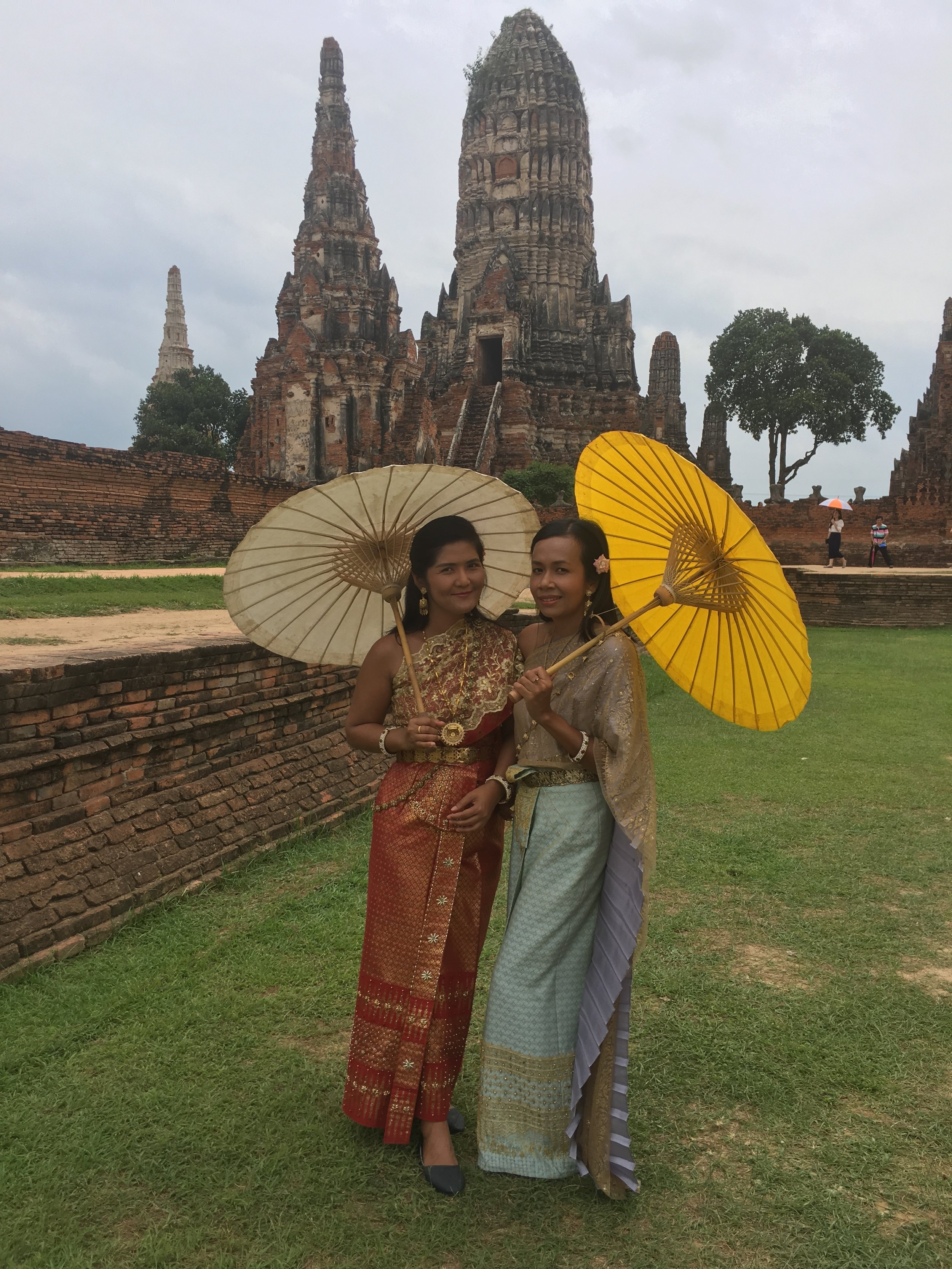 In Ayutthaya, you can rent period costumes and really look the part for some memorable pictures to show your friends at home!