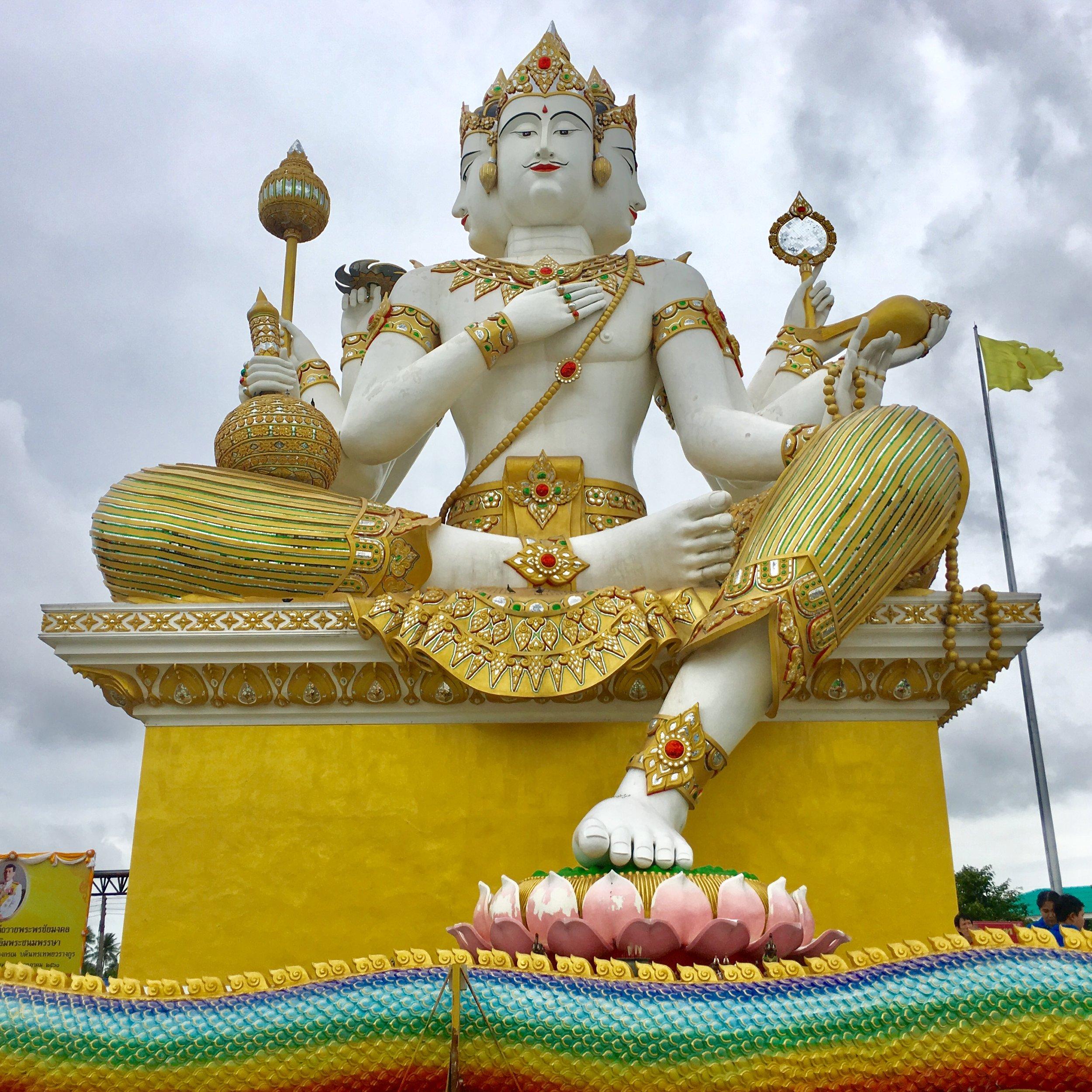 Wat Saman Rattanaram, Chachoensgsao, Thailand