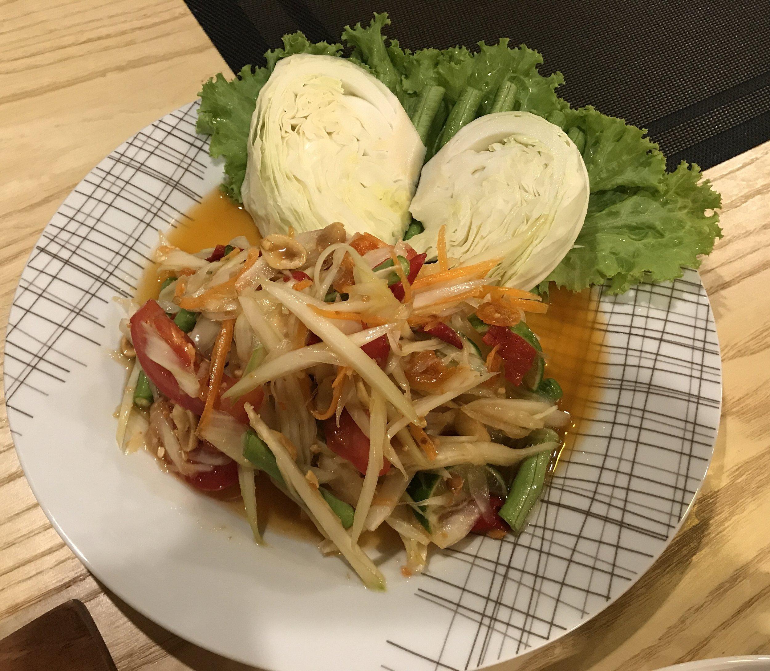 Green Papaya Salad / Som Tam Thai