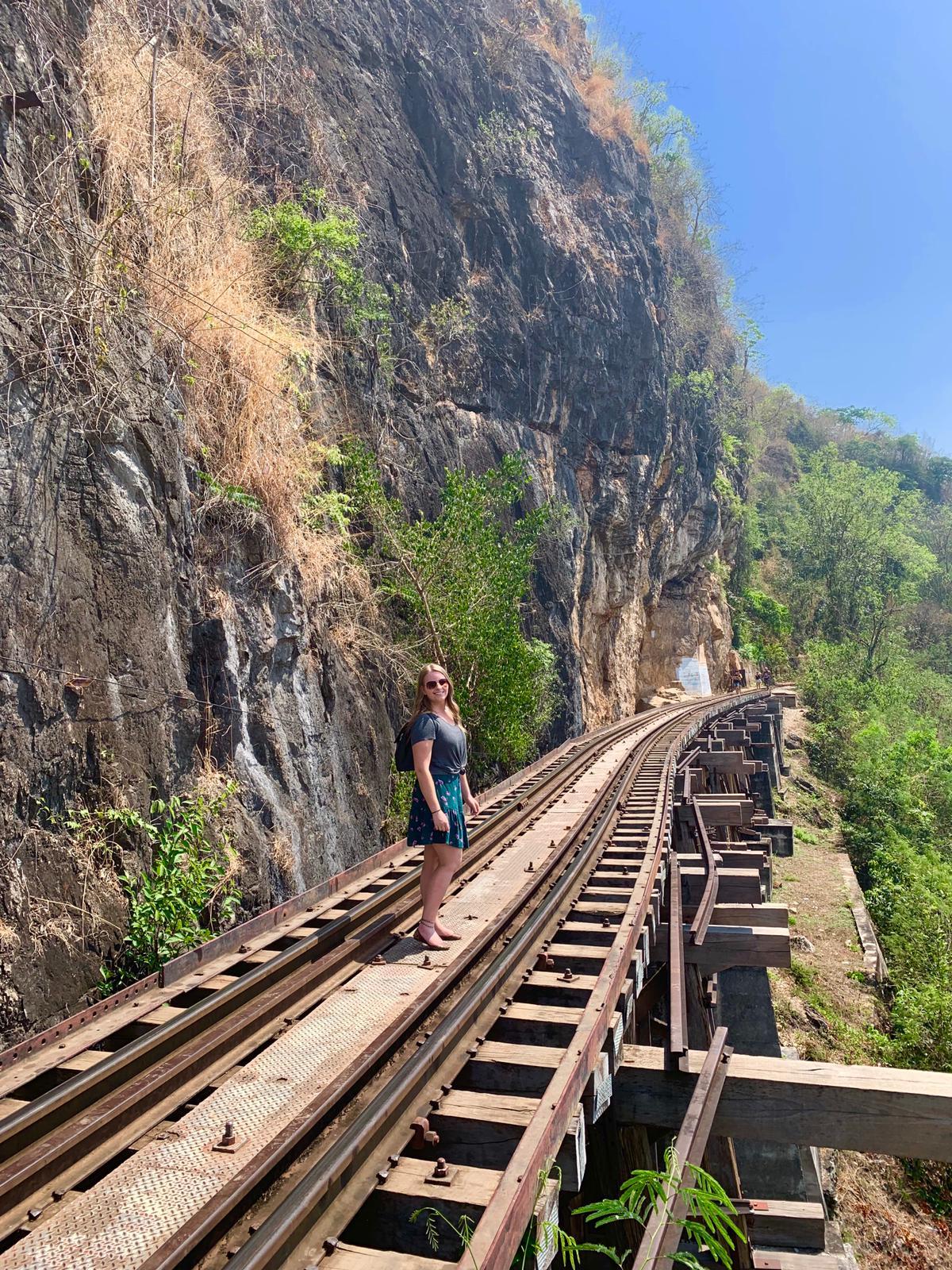 Tham Krasae Bridge, Kanchanaburi, Thailand