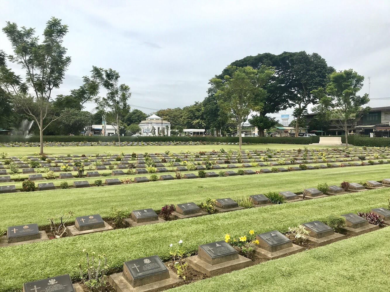 War Cemetery, Kanchanaburi, Thailand