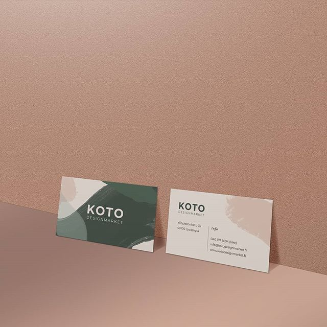 #graphicdesign  #visualidentitydesign  #businesscards  #kotodesignmarket
