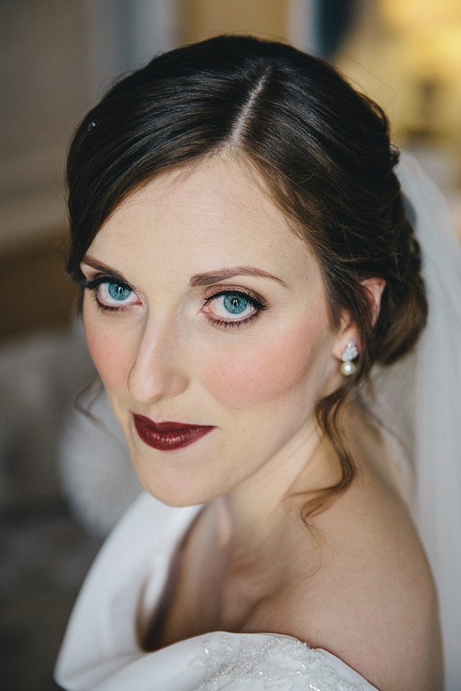 """laura / lartington hall - """"Kitty was brilliant from start to finish! She helped me choose a look that would go with the style of my dress and did an amazing job with everyone's makeup on the day. I would absolutely recommend Kitty, she made me feel fantastic on the day!"""