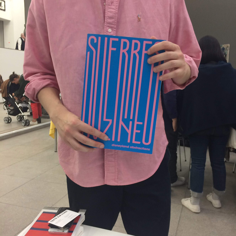 Magazine release at Friends With Books - Hamburger Bahnhof, Berlin 2017