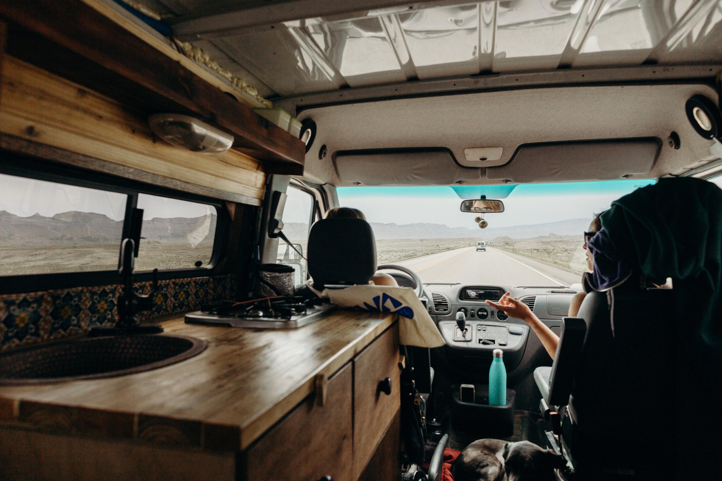 custom camper van conversions for van life in colorado