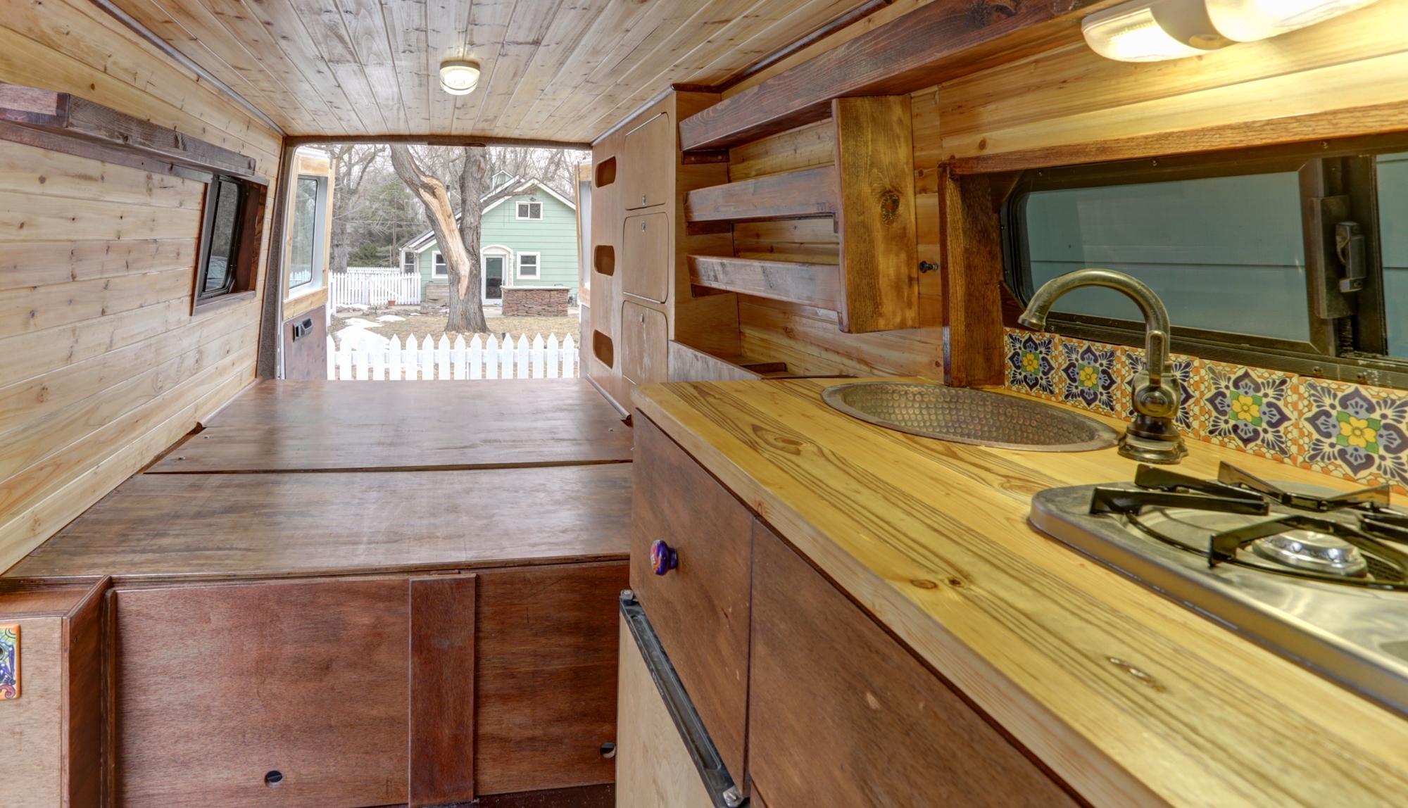 old world craftsmanship for your van home