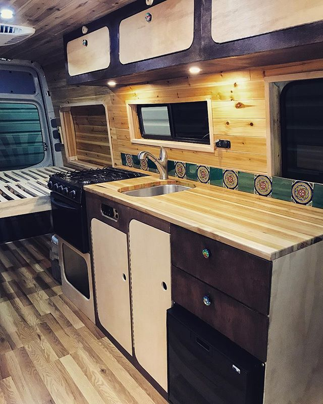 This van has been a real treat to convert. A proud piece and amazing client!! #vanlife #promaster #sprinter #transit #vans #vanconversion #vanliving