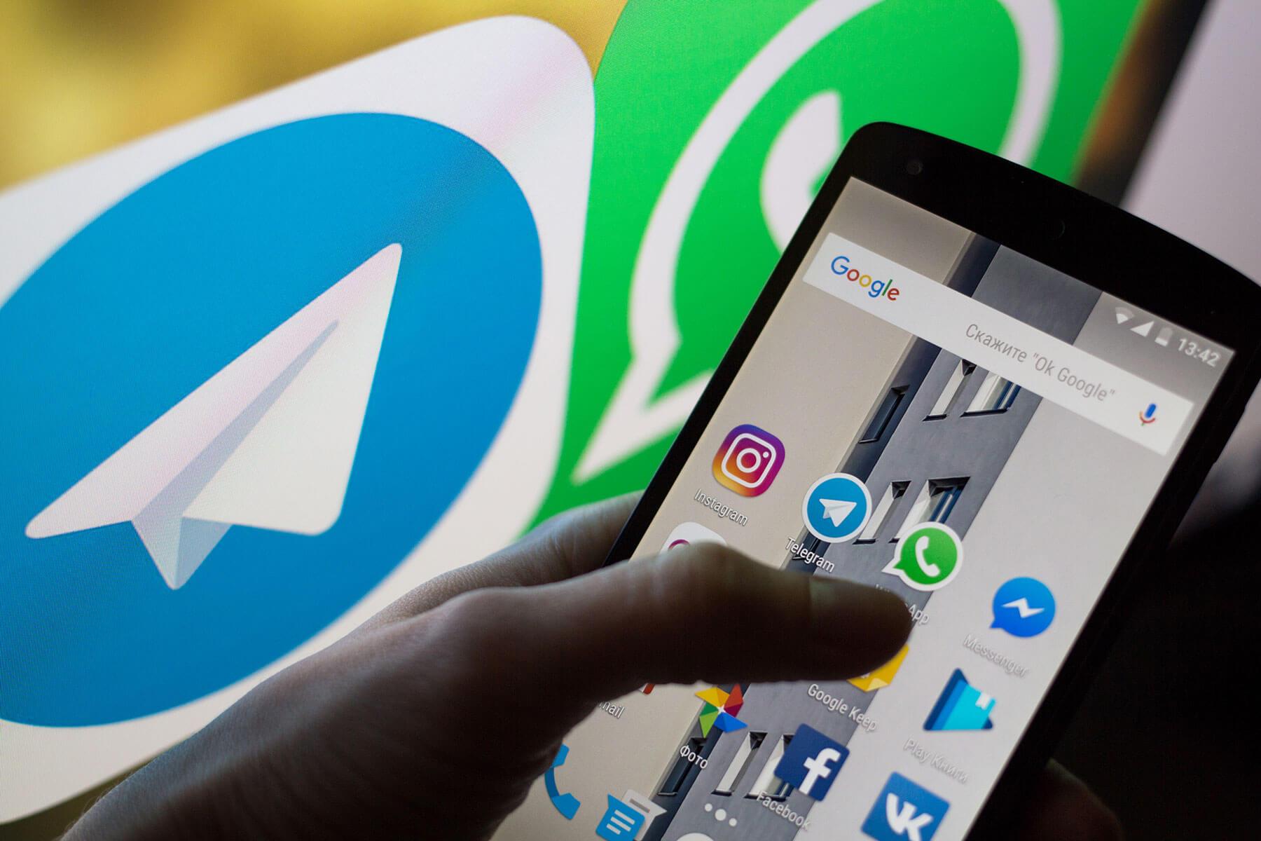Telegram-versus-WhatsApp