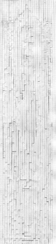 Cut-up pattern back