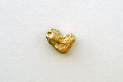 Love From Berlin  Cast gold pin; 2009