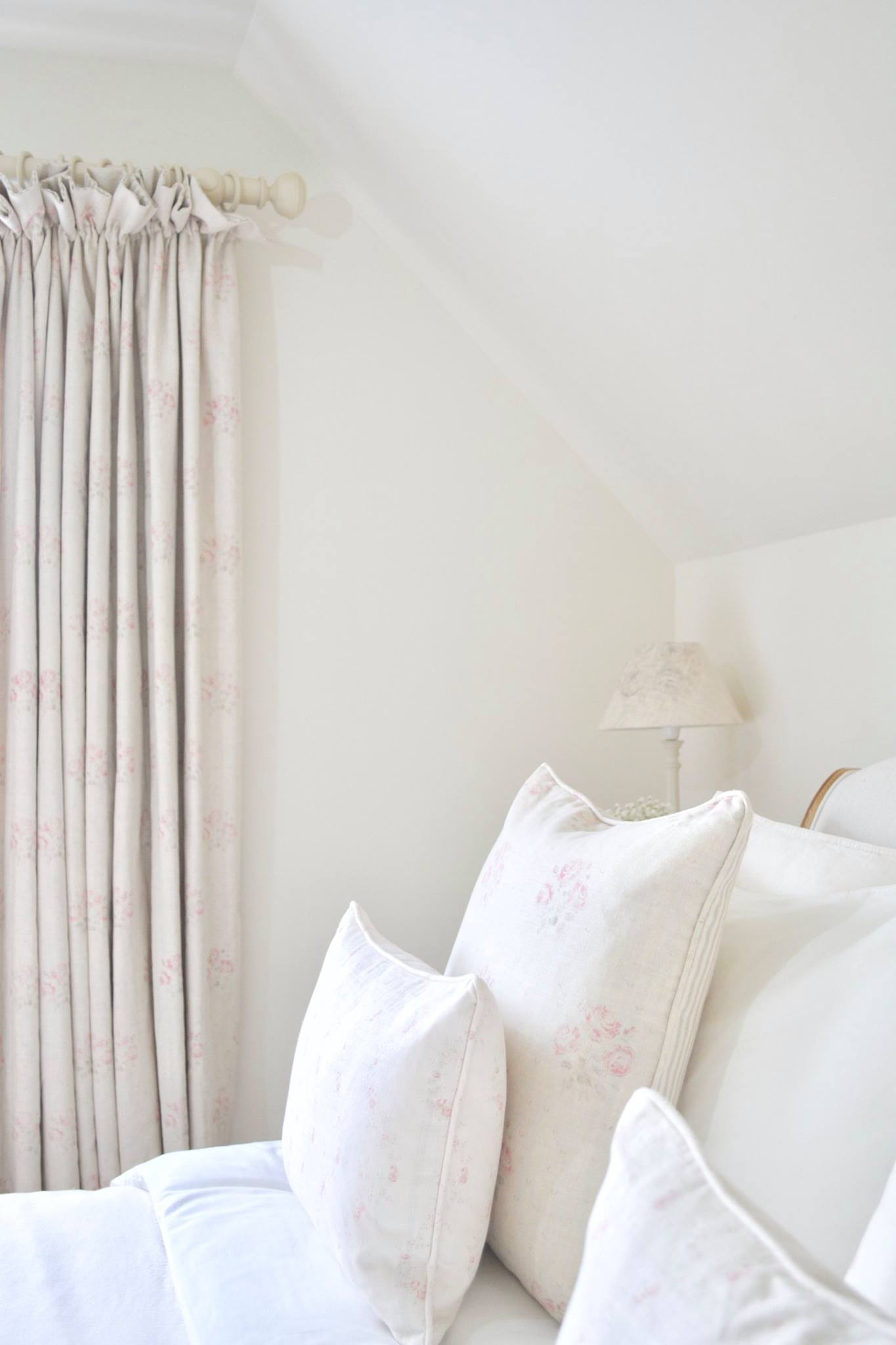 Cottage Bedroom with faded floral linens designed by www.hlinteriors.co.uk10.jpg