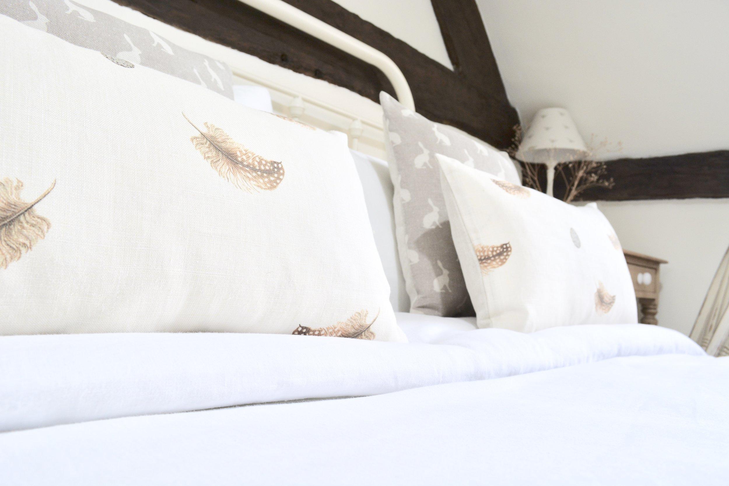 Black & White Cottage Bedroom