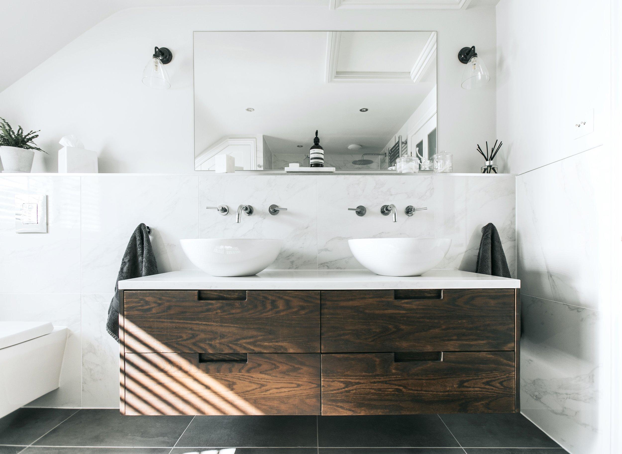 Contemporary Bathroom Remodel - See more