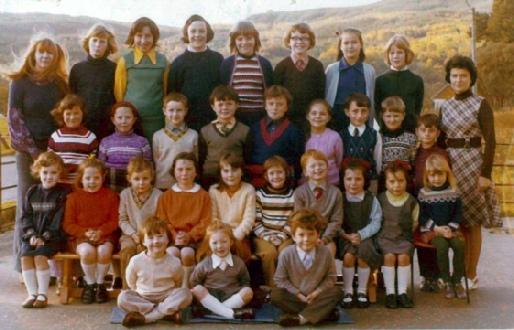 Kinlochard Primary School - 1974
