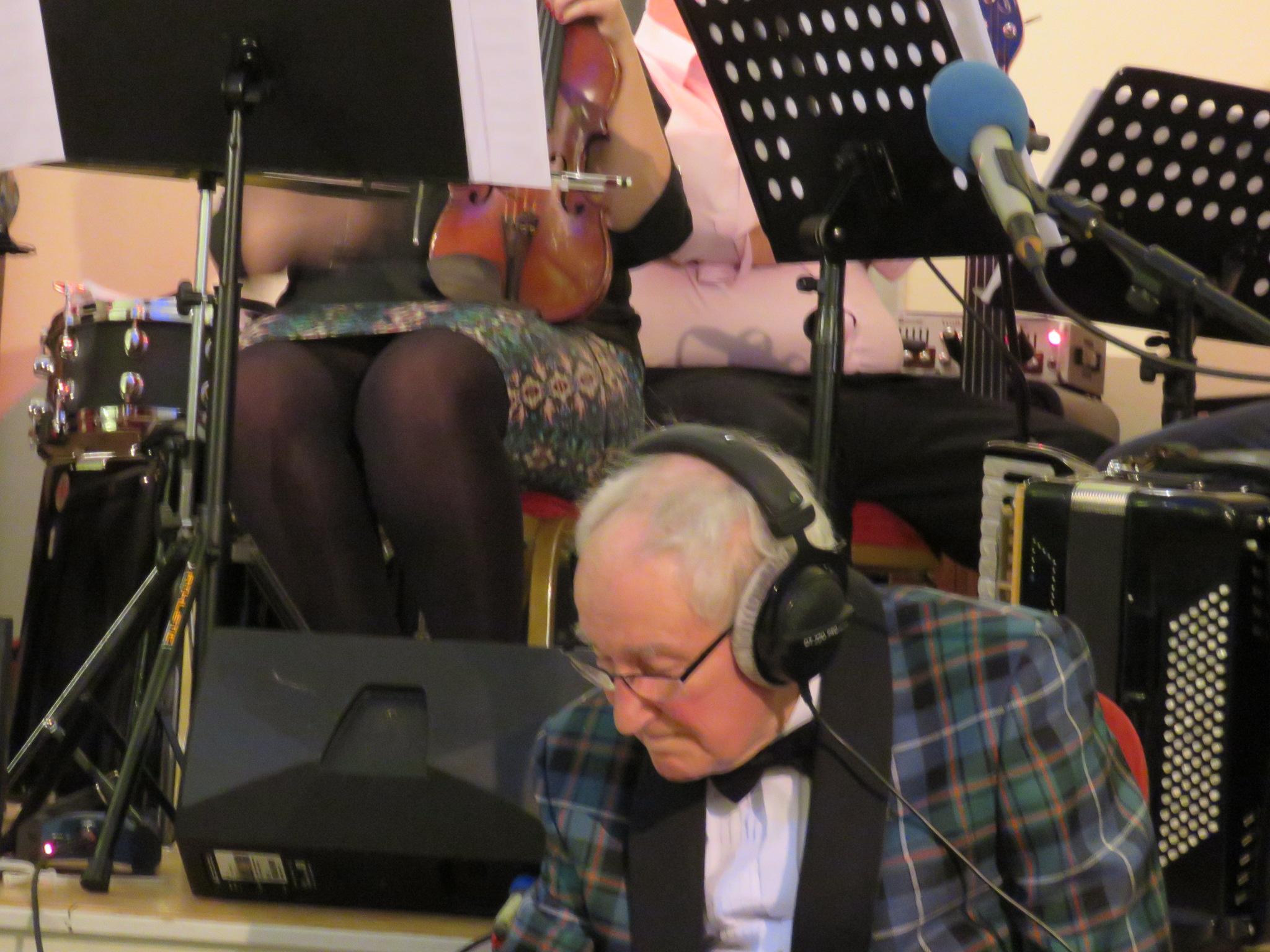 Robbie Shepherd with BBC Scotland's Take The Floor