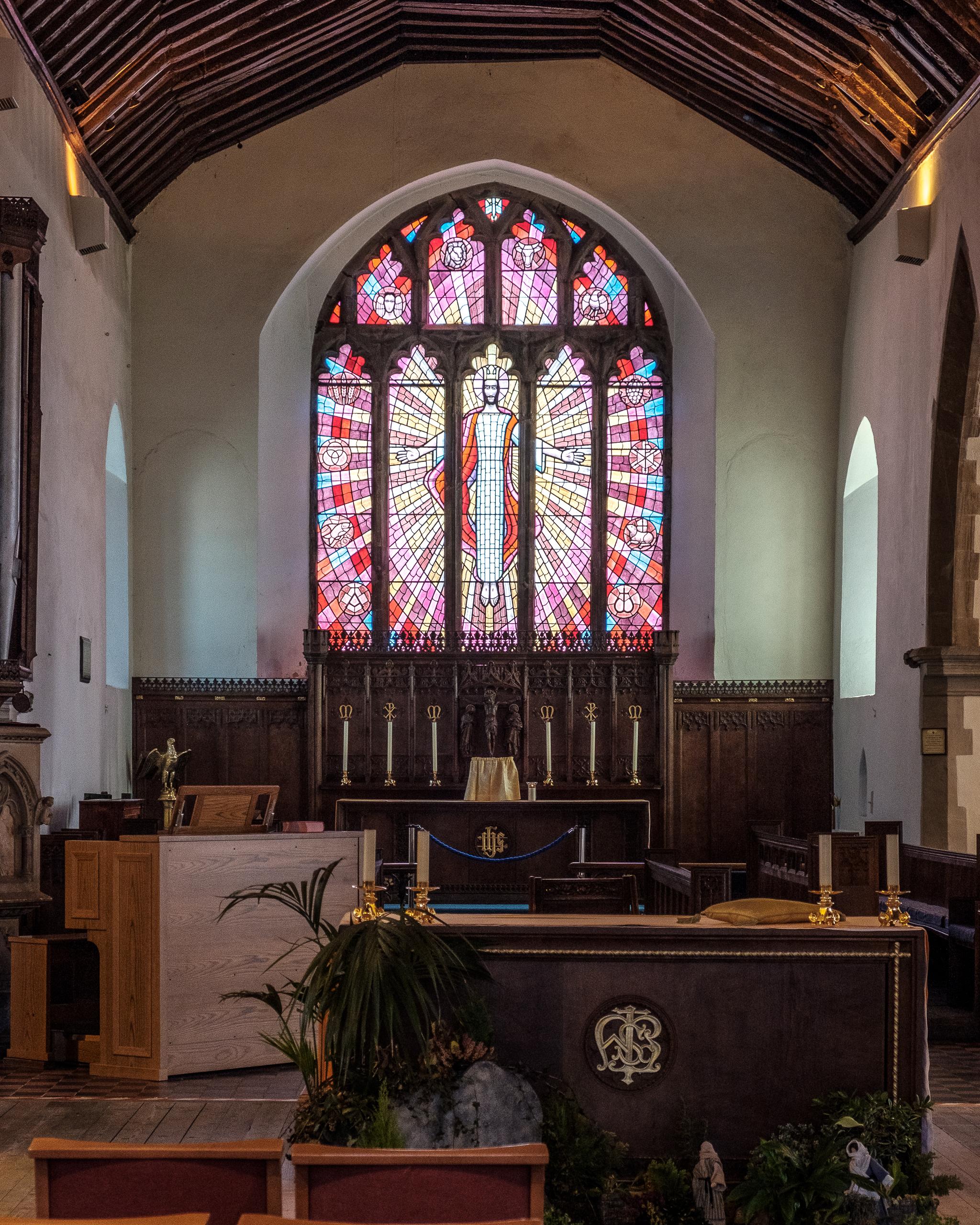 Och så slutligen kyrkan i mitten av Brecon.