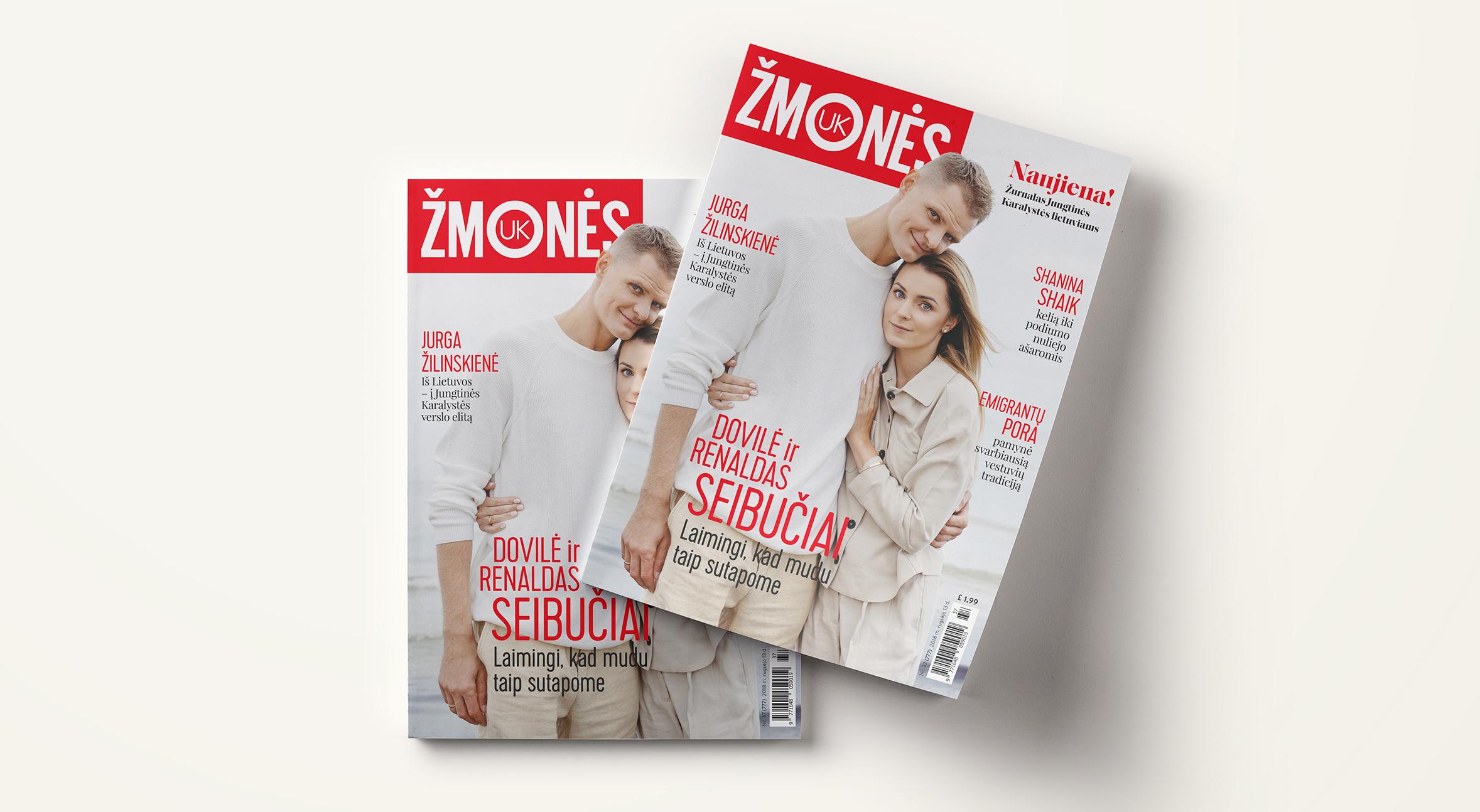 """Jungtinės Karalystės lietuviai skaitys specialiai jiems skirtą žurnalą – """"Žmonės UK"""" - Žurnalas """"Žmonės"""" plečiasi į Jungtinę Karalystę."""